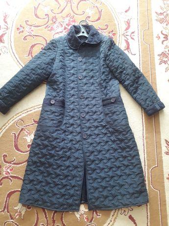 Куртка-пальто,  темно синее, 48-50р