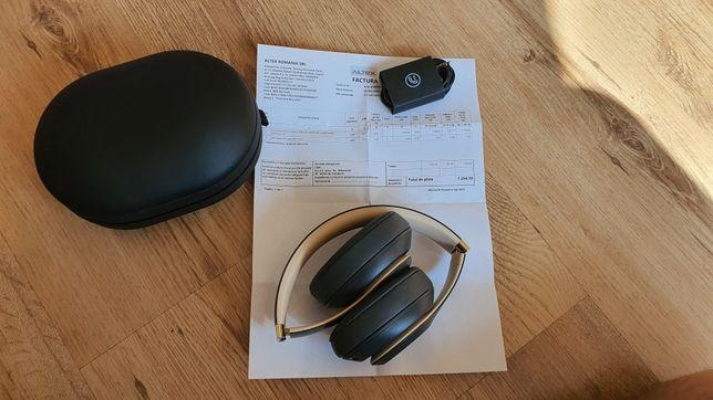 Casti Wireless Beats By Dre Studio 3 Bluetooth Noi Factura Garantie
