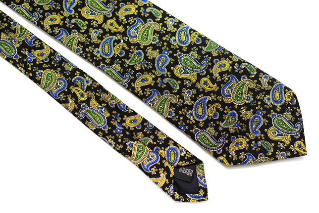 Cravata Barbati Salmone 10 x 152 cm Paisley Multicolora Matase CR153