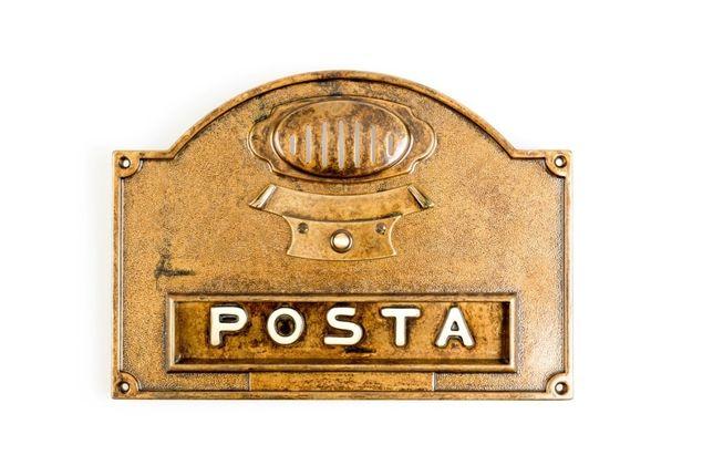 Cutie Poștală | Fanta Alama *** vintage / antic / retro ***