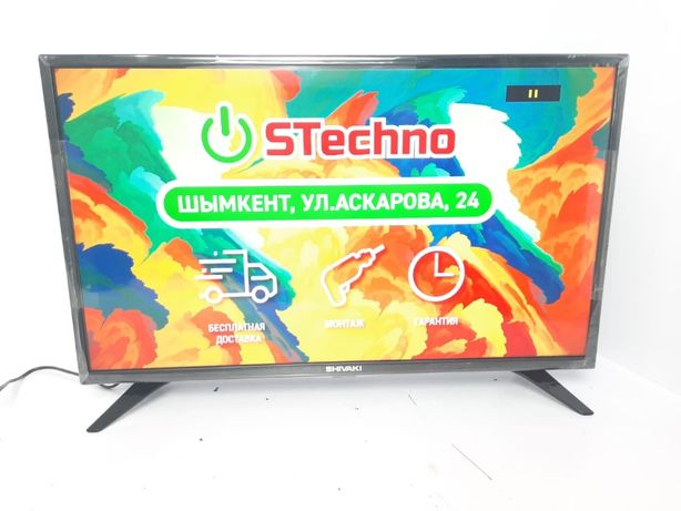 НОВЫЙ телевизор 81 см SHIVAKI 32SH90G + 1 ГОД гарантии ! !