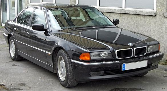 BMW E38 728I на части