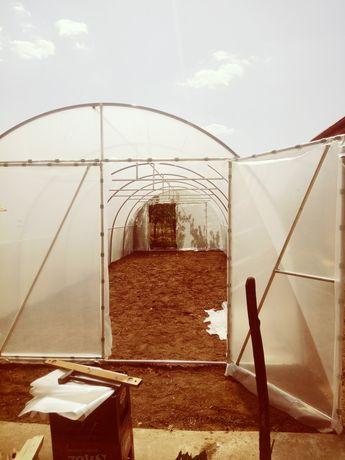 Solar legume teava zincata 4x10metri.. 2.7metri inaltime