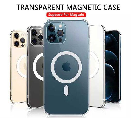 Apple MagSafe силиконов калъф Кейс за iPhone 12 mini Max Pro 11 case
