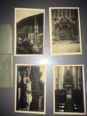 Vand set de 12 carti postale vechi necirculate