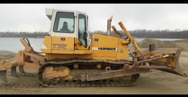 Buldozer Liebherr 732 (schimb cu excavator >20to)