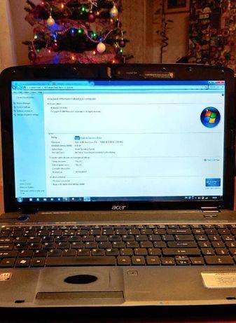 Продавам лаптоп ACER Aspire 5738zG с нова двойна батерия