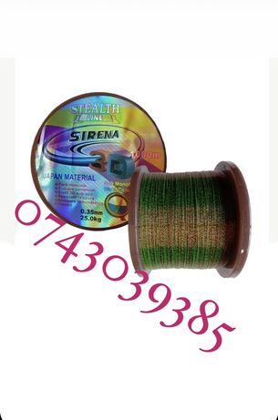 Fir 3 D Sirena Monofilament Japan Material 1000 Metri Invizibil In Apa