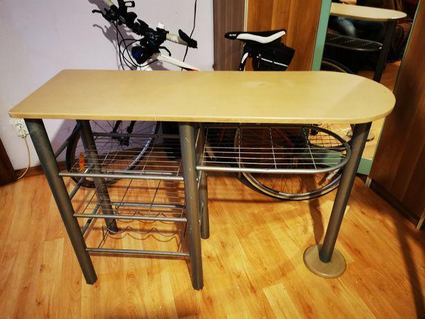 Masa / bar / birou pt bucătărie balcon cu suport pt sticle
