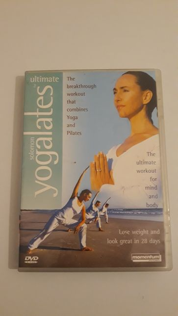 Dvd video yoga &pilates