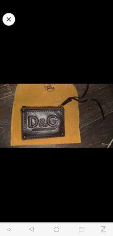 Кошелек для мелочи Dolce & Gabbana (D&G) 2001-3 го