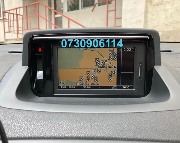 CARD navigatie Renault Clio Megane Fluence Carminat LIVE si Rlink 2019