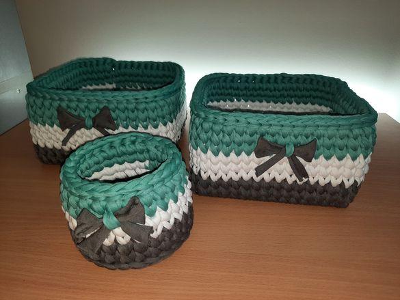 Комплект плетени панери за памперси