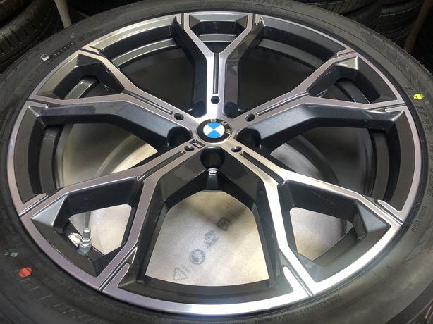 Jante Originale BMW X5,X6- G05,G06 pe 21 cu anvelope  VARA !