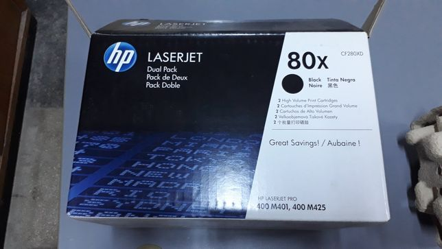 Toner HP Laserjet 80x CF280XD