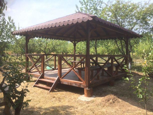 Construim orice doriti din lemn masiv: case, foisoare, pergole, garaje