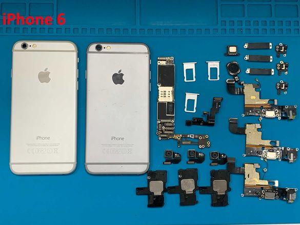 iPhone 6 на части; iPhone 6 + Plus на части