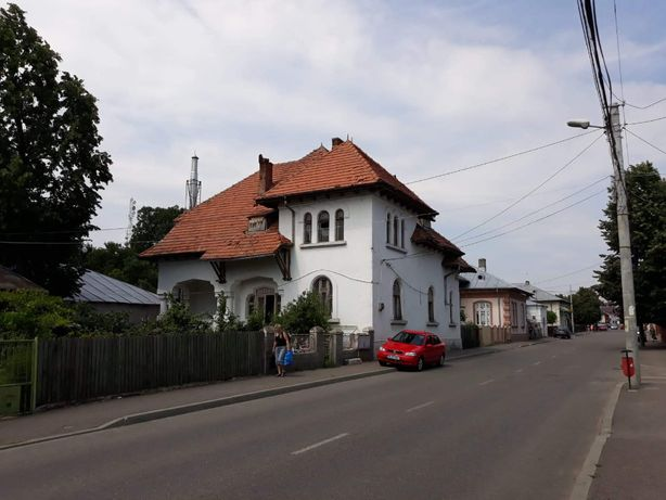 Casa vila conac de epoca stil neoromanesc/art nouveau Ramnicu Sarat