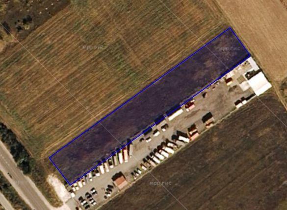 Земделска земя 5381 кв.м. срещу КЦМ първа линия на главен път