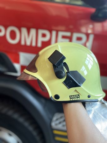 Cască pompieri MSA Gallet