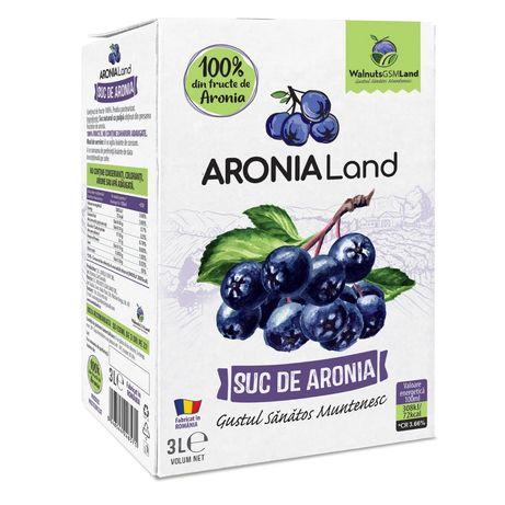 Suc de Aronia 100% fruct