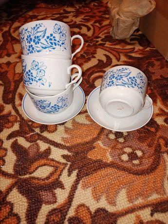 Кофейные пары, чайные пары.  Блюдо,кисе,вазочки