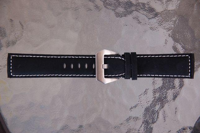 Curea pentru ceas din piele intoarsa 22mm