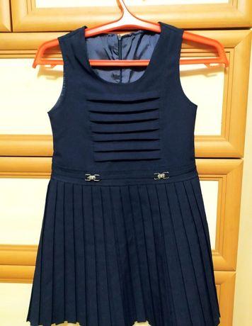 Турецкое школьное платье (сарафан)