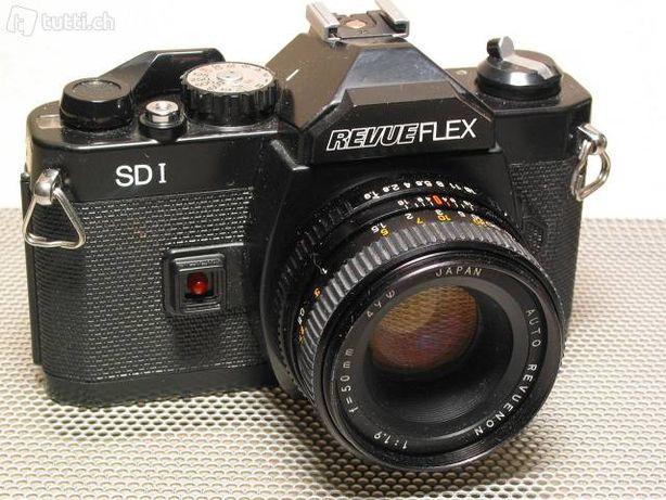 Revueflex SD1 Aparat SLR FOTO Nu Nikon ,Canon,Sony