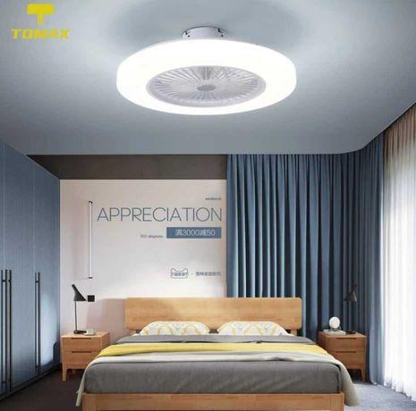 Полилей 58CM ултра тънки LED таванни светлини, 3-цята с дистанционно