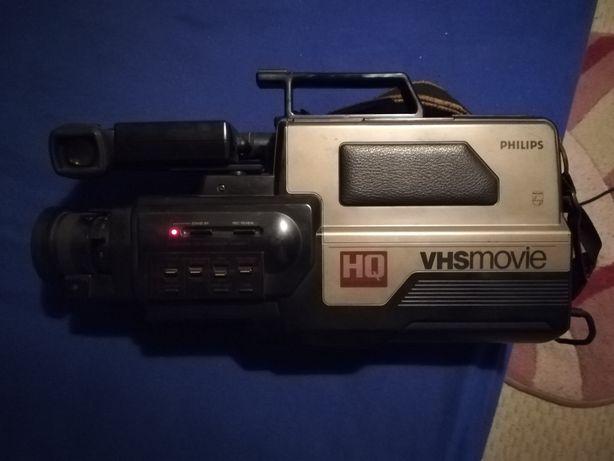 Philips VHS movie cameră HQ Vintage