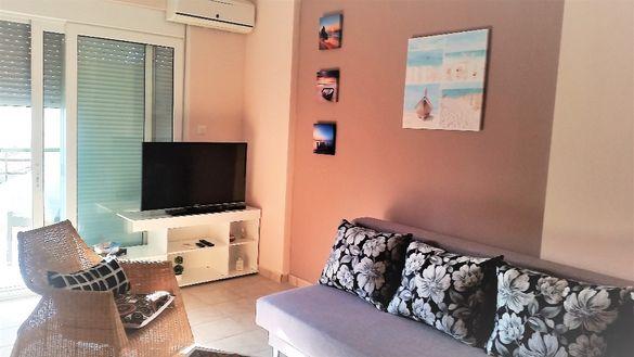 На море в Гърция: Апартамент 45 Е/1спални, до 4души в паралия Офрини