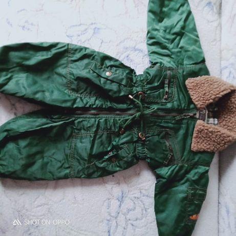 Комбинезон - демисезонный В подарок -2 зимние ,теплые шапки