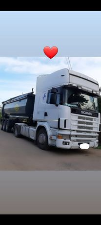 Scania 124L 420 2001 putin avariat(schimb cu auto)