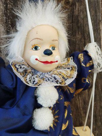 Ретро порцеланова кукла Клоун