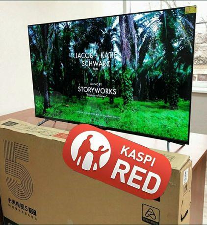 Новый 127см голосовое управление smart телевизор запечатоный гарантия