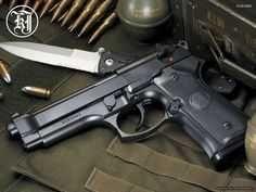 Pistol Airsoft Taurus PT92 4,1 Metal+ABS