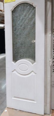 Доставка. Двери межкомнатные новые в упаковке Россия,цвет белый,кедр