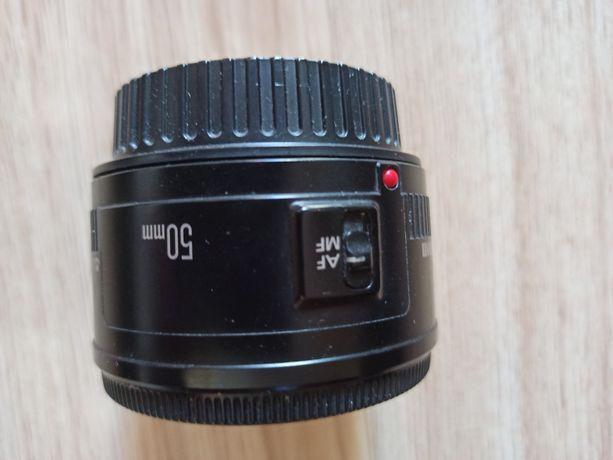 Объектив canon 50mm 1.8
