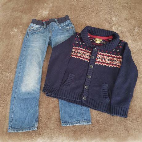 Blugi H&M și cardigan Pandemonium,băieți,6 ani