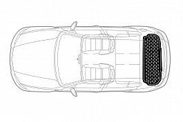 Covor portbagaj tavita Mercedes-Benz GLE Coupe (C167) 2019->