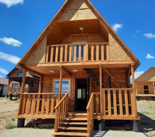 Сдам новый двухэтажный дом на Самарке