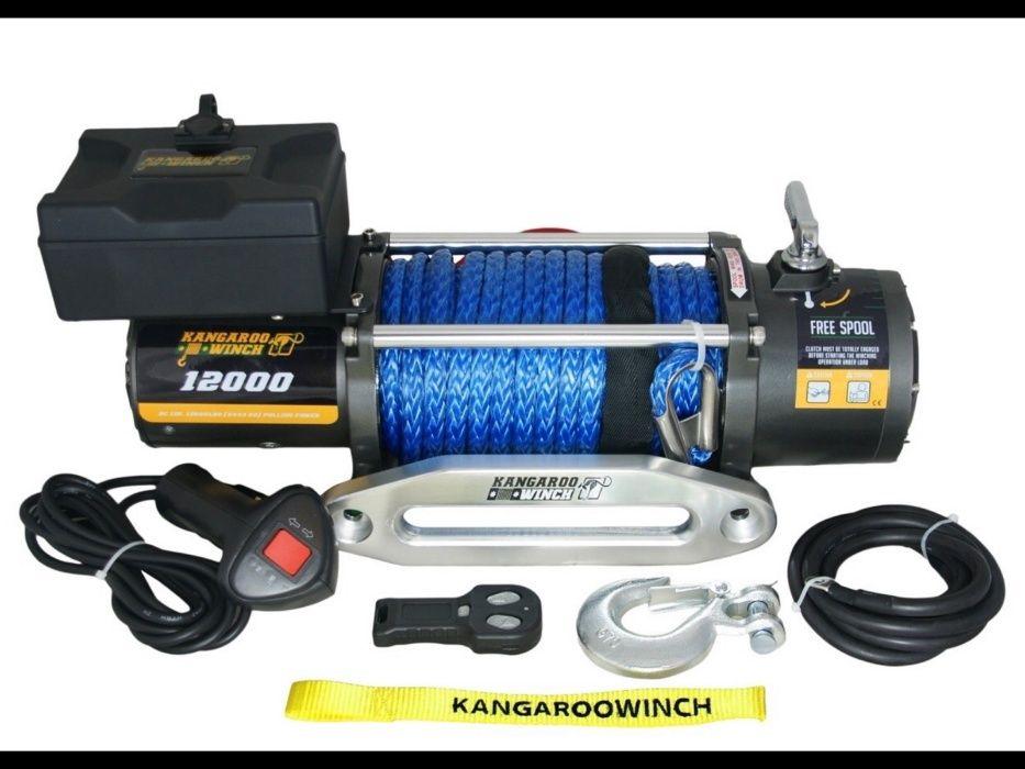 Troliu PowerWinch/KangarooWinch coarda sintetica PW12000Е SR Vipe Rope