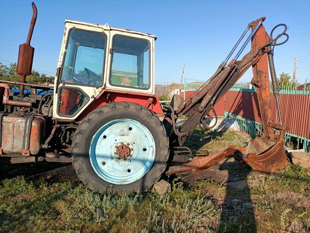 экскаватор трактор на базе юмз