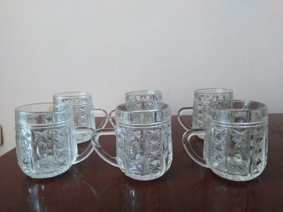 Сервиз  стъклени  чаши
