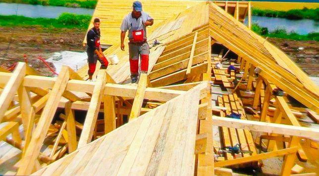 Refacem și montam acoperisul,firma autorizata