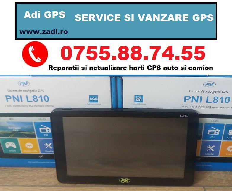 "GPS CAMION-ecran mare 7"" - gata pregatit de drum-model nou Bistrita - imagine 1"