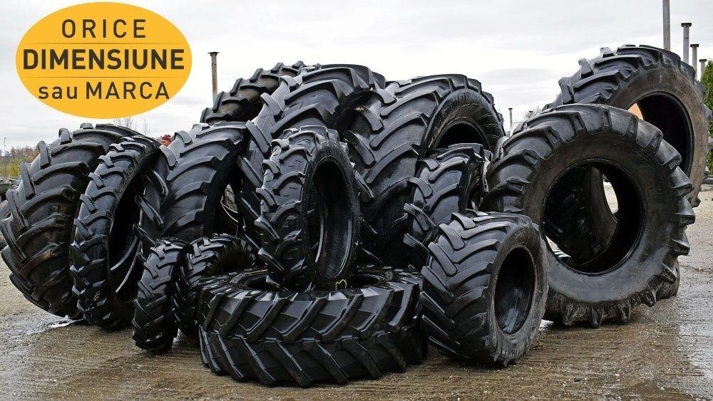 CAUCIUCURI 480/65R28 Michelin Anvelope SECOND Tractor John Deere Gradinari - imagine 1
