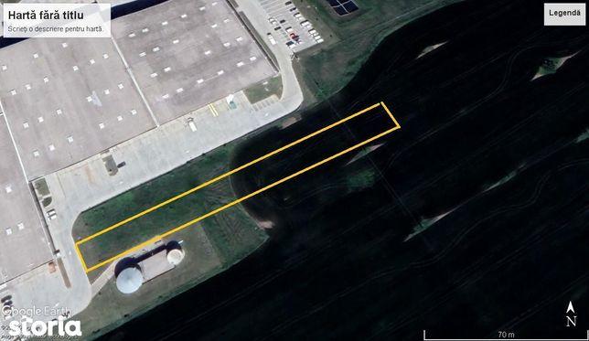 Teren centru logistic Domnesti Km 13.5