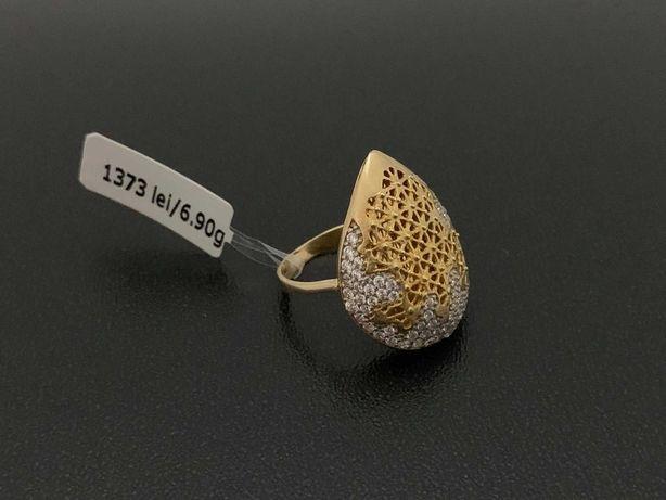 Bijuteria Royal CB: Inel dama aur 14k 585% 6,90 grame
